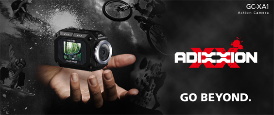Adixxion JVC Action Camera